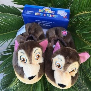 Build A Bear Paw Patrol Chase Slippers